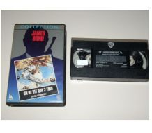 CASSETTE VHS JAMES BOND on ne vit que 2 fois