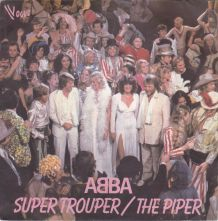 Vinyle ABBA - Super Trouper/ The Piper 45 t