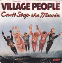 VILLAGE PEOPLE - Can't Stop the Music - 45 t