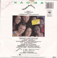 Kaoma - Lambada - 45 t