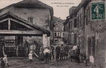Carte Postale Ancienne St-VINCENT-de-CONNEZAC