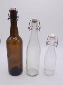 Lot de 3 bouteilles