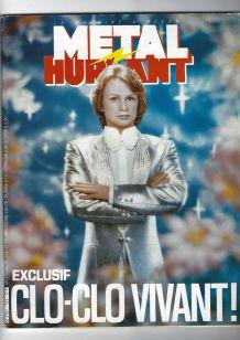 """EXCLUSIF CLOCLO VIVANT"" (magazine METAL HURLANT"" ) (1984)"