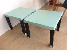 2 petites tables basses