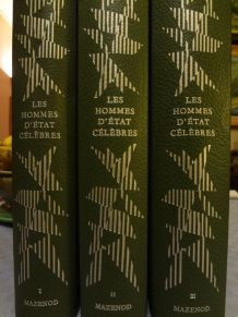 Editions MAZENOD 3 forts volumes
