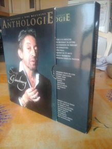 GAINSBOURG Coffret Anthologie 3CD