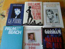 Romans et Livres Divers (Actualité, Thriller, etc ...)
