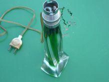 Pied de lampe de chevet en cristal de France