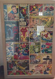 AFFICHE COMICS 60s