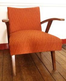 Authentique paire de fauteuils scandinaves