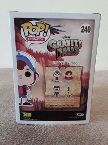 Funko Pop DIPPER PINES 240 - Glow Chase - GRAVITY FALLS DISNEY