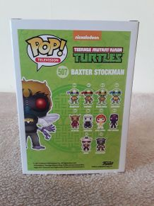 Funko Pop BAXTER STOCKMAN 507 - Exclusive Glow - TEENAGE MUTANT NINJA TURTLE