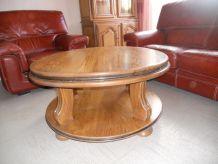 table basse chêne massif
