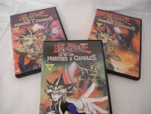 Lot 3 DVD Yu-Gi-Oh! Le Jeu des Monstres à capsules