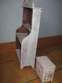 amoires de poupée en bois