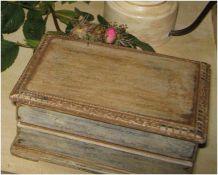 boite ancienne en bois