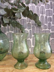 Photophores en verre soufflé de Biot