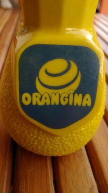 ORANGINA - porte paille publicitaire - bistrot français - COLLECTOR
