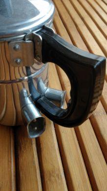 Théière- bouilloire électrique en aluminium - VINTAGE -