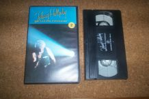 TRES RARE K7 VIDEO HORS COMMERCE PUB JOHNNY HALLYDAY