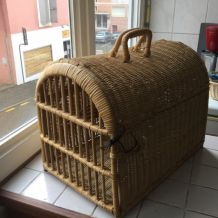 Panier de transport chat et corbeille chat
