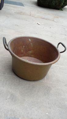 bassine en cuivre