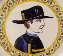 Assiette Henriot Quimper