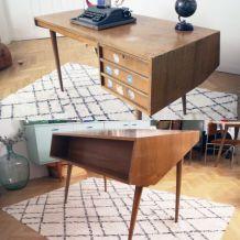 Bureau vintage design scandinave années 50/60