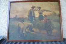 Affiche du peintre Alfred Plauzeau 1875/1918