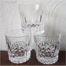 Trio de verres en cristal Villeroy & Boch