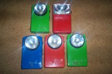 lot de 5 anciennes lampes mazda