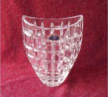 Vase en cristal de Bohême