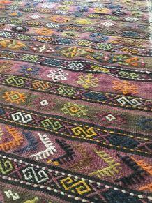 Tapis/Kilim en laine  Balikesir (Turquie)