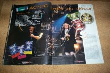 REVUE HARD ROCK NO 15 DE 96 ACDC + poster
