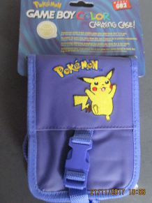 SACOCHE DE RANGEMENT POUR GAME BOY COLOR POKEMON