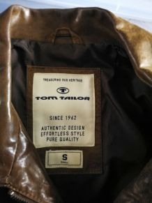 blouson cuir tom taylor