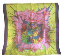 Hermes graffiti scarf carré soie foulard