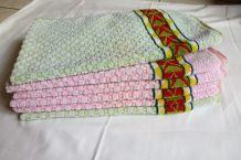 Anciennes serviettes de toilette