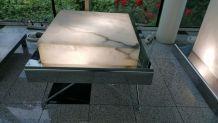 Table basse lumineuse design
