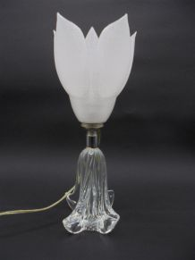 Lampe fleur blanche