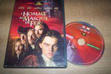 DVD LE MASQUE DE FER avec leonardo dicaprio