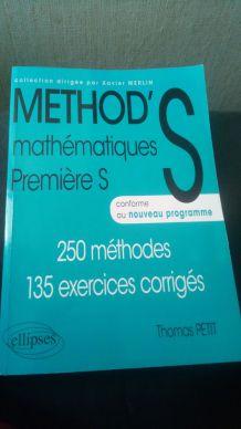 Manuel première S mathématiques