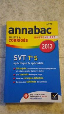 Annabac SVT terminale S
