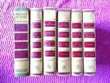 """6 volumes Editions """"la table ronde"""""""