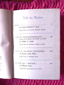 "6 volumes Editions ""la table ronde"""