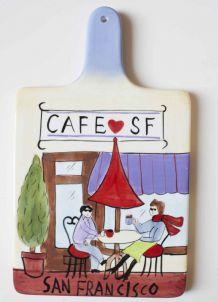 déco murale café San Francisco