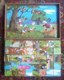 Boite de cubes Walt Disney - vintage