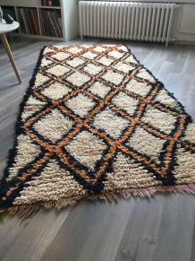 Magnifique tapis Beni Ouarain vintage