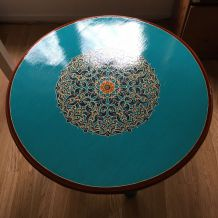 Table basse artisanale