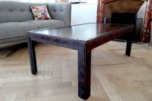 Table basse industrielle en fer